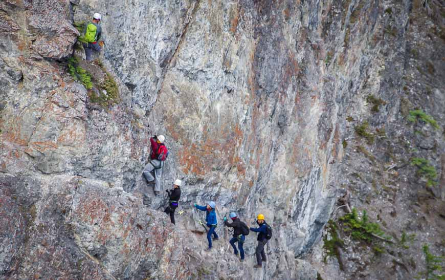 Giveaway - Two Passes for the Mt. Norquay Via Ferrata